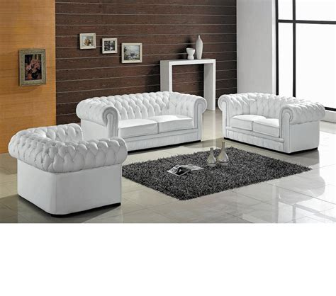 tufted leather sofa set dreamfurniture divani casa transitional tufted leather sofa set