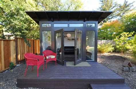backyard studio plans 15 compact modern studio shed designs for your backyard