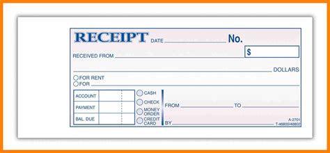 9 how to write a receipt of payment emt resume