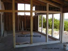 how to build a screened in porch studio design