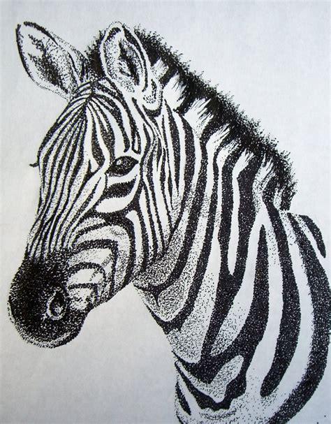 zebra tattoo pen zebra stippling by liferider713 on deviantart