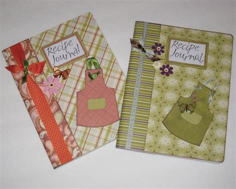 Handmade Recipe Book Ideas - scrappy designs january 2012