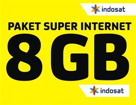 Indosat 1 Gb 8 Gb beberapa pilihan paket indosat im3 dan mentari
