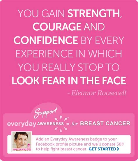Strength And Courage Quotes Cancer Quotesgram