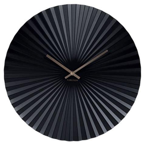 Uhr Karlsson by Karlsson Ka5657bk Wanduhr Bei Uhren4you De
