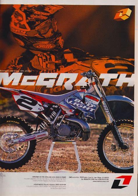 Mcgrath Ktm Kick Two Strokes Moto Related Motocross Forums