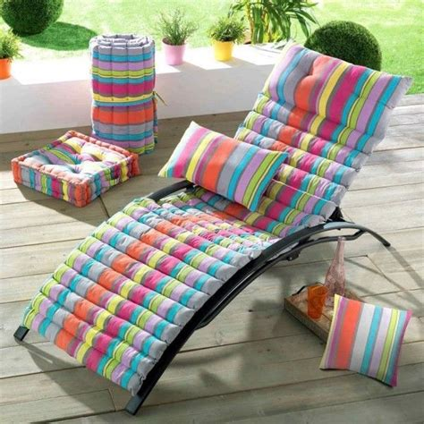 cuscino per lettino prendisole cuscino per lettino prendisole marina multicolore