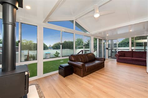 Home Designs Open Floor Plans act glass enclosure amp patio spanline australia