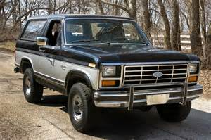 1983 Ford Bronco All American Classic Cars 1983 Ford Bronco Xlt 4x4 2 Door Suv