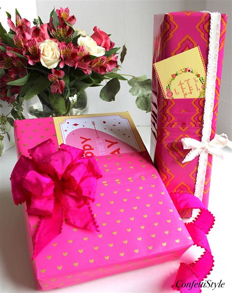 paper valentines gift wrap inspiration pleated paper valentines wrap
