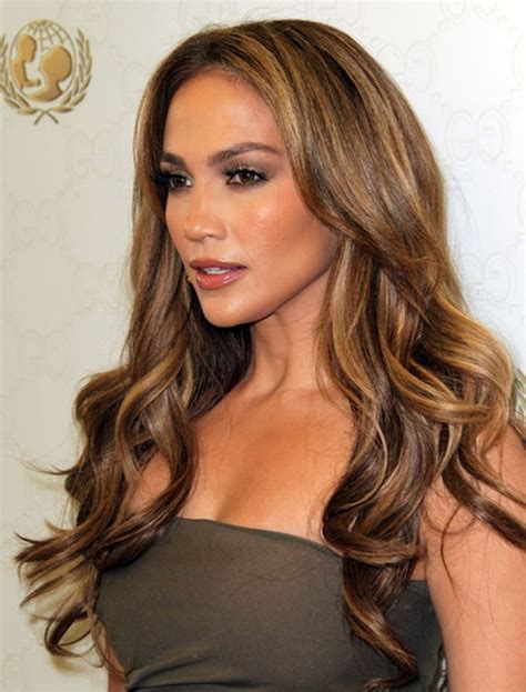 honey brown hair color for hispanic women jennifer lopez hair color 2016 balayage