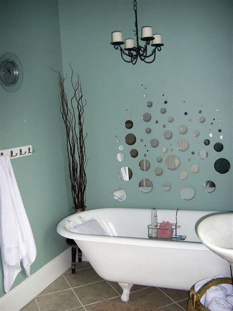 wall decorating ideas for bathrooms bathrooms on a budget our 10 favorites from rate my space