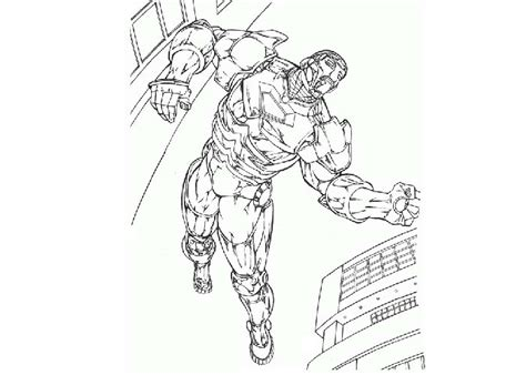 free coloring pages of iron marvel