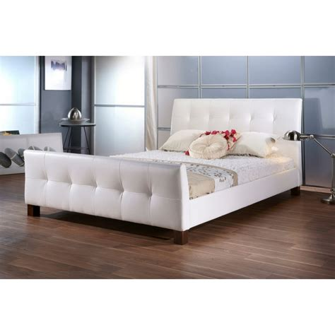 full bed furniture amara white modern bed full size see white