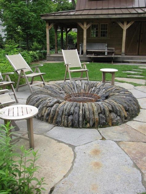 inspiration  backyard fire pit designs decor