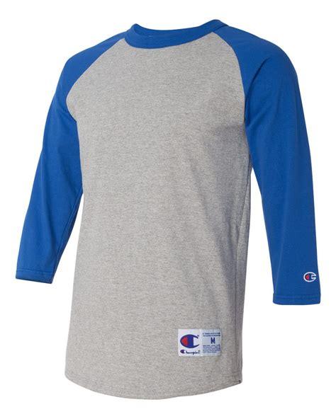 Raglan 3second 4 chion s 3 4 sleeve raglan baseball t shirt jersey blank t137 s 3xl new ebay
