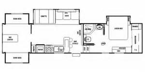 Silverback 5th Wheel Floor Plans by 2008 Cedar Creek Silverback Fifth Wheel Series M 35l4qb
