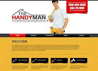 free handyman templates handyman website template wix