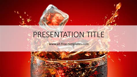 Cocacola Powerpoint Template All Free Templates Coca Cola Powerpoint Template