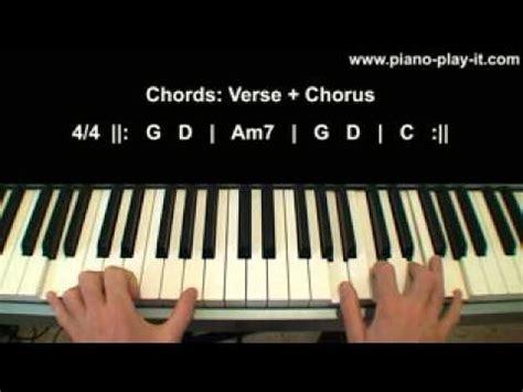 knocking on heaven s door piano tutorial knocking on heavens door piano tutorial youtube