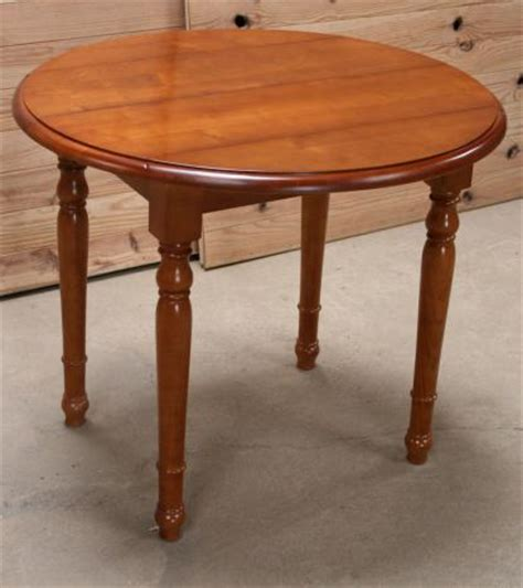 table salle a manger bois ronde