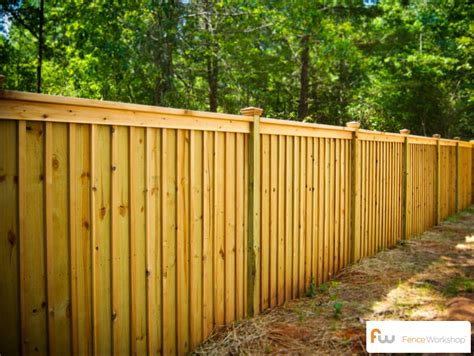 the king board and batten wood privacy fence pictures per foot pricing