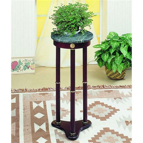 plastec 12 in dia black hose guide plant stand hg12st