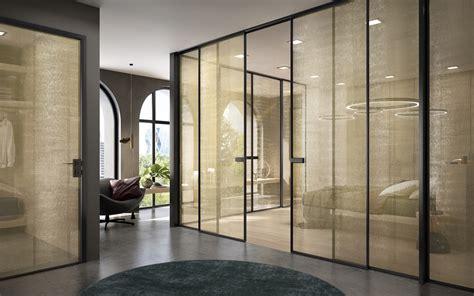 porte interne in alluminio e vetro porte interne in vetro e vetrate scorrevoli garofoli
