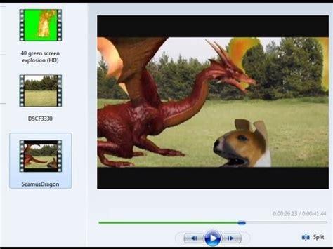 windows movie maker green screen tutorial green screen effect in windows movie maker 6 0 youtube