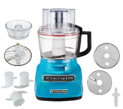 KitchenAid 9Cup Exact Slice Food Processor w/ French Fry
