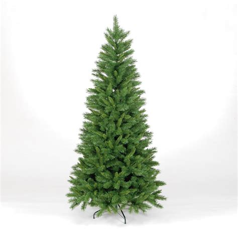 7ft new duchess spruce slim artificial christmas tree ebay