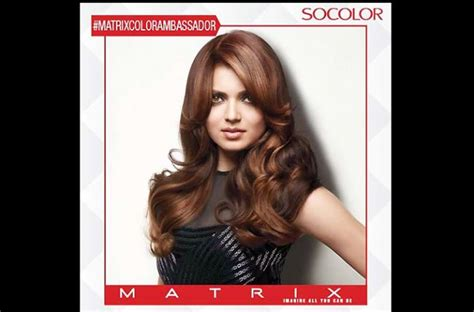 matrix hair dye review drashti excited to be the face of matrix india s hair