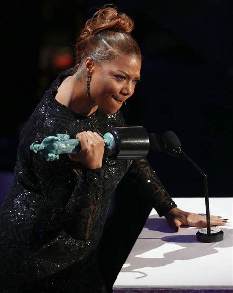 film queen latifah queen latifah wins for bessie at the 2016 screen actors