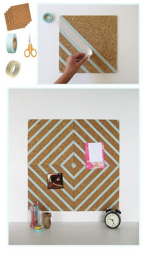 Decorating Cork Boards by Creative Diy Washi Decorating Ideas Noted List