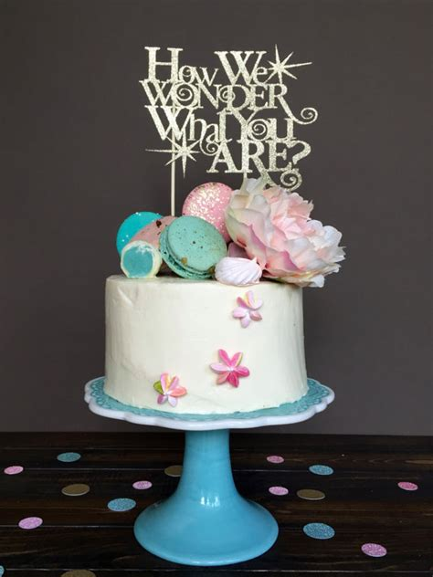 gender reveal cake topper cake topper cake topper baby