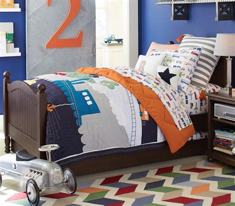 Pottery Barn Boys Bedding by Brody Quilted Bedding Pottery Barn
