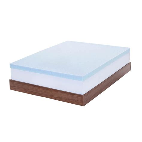 Gel Memory Foam Mattress King by Lavish Home King Size 3 In Alternative Mattress Topper 64 12 K The Home Depot
