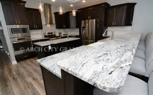 espresso kitchen cabinets with granite silver cloud granite granite countertop profile