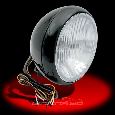 L Specialties by Black 7 Inch Headlight Assembly L20 6084be By Drag Specialties