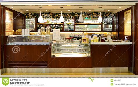 Floor Plan Layout Design by Cova Takeaway Coffee Bar Counter Editorial Image Image