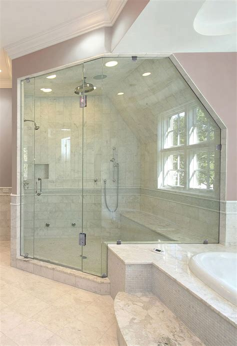 Angled Shower Door Shower Doors For Angled Ceilings Door Panel Shower Doors Corner Shower Doors