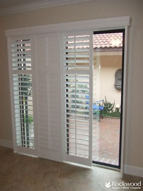 Wooden Shutters For Patio Doors 25 Best Ideas About Sliding Patio Doors On Pinterest Sliding Glass Doors Slider Window And