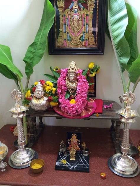 Decoration For Pooja Room by 17 Best Images About Varalakshmi On Mothers