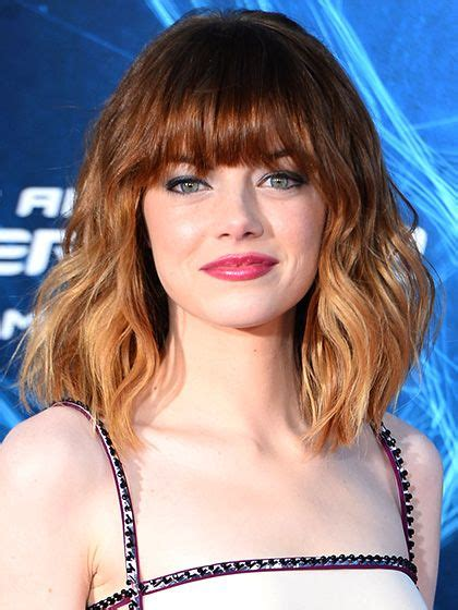 7 easy ways to style midlength hair lob heavy bangs and bangs 7 easy ways to style midlength hair