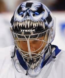 12 scariest hockey masks