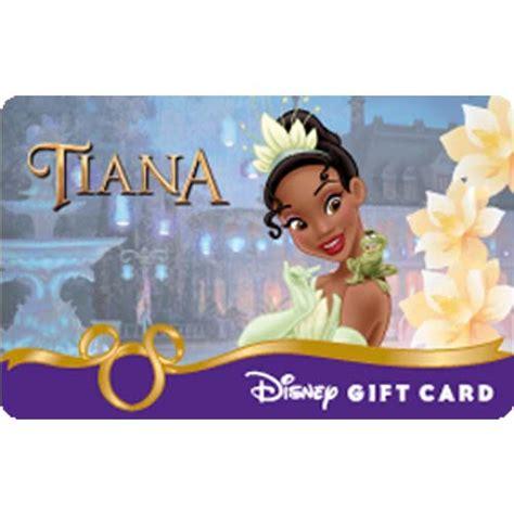 Disney Store Gift Card Balance - your wdw store disney collectible gift card princess tiana bayou dreams