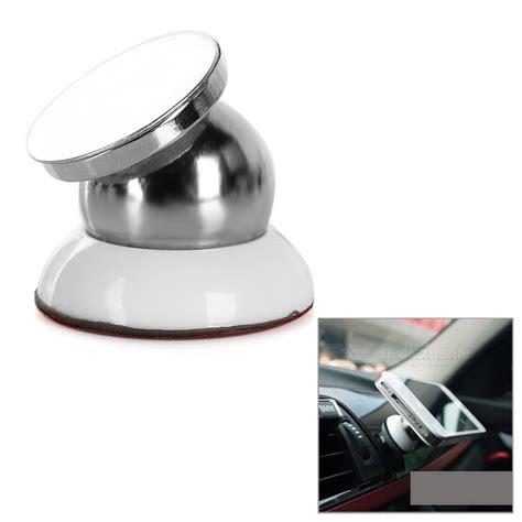 Car Holder Mount Putar Magnetik Rotary 360 Magnetic Holder Mobil universal 360 rotary magnetic car mount holder white silver free shipping dealextreme