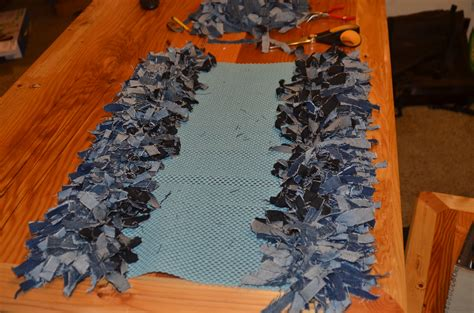 diy jean rug diy home made rag rug crafty mcgee