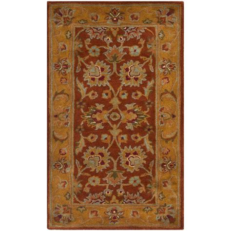 3 X 4 Area Rugs Safavieh Heritage 2 Ft 3 In X 4 Ft Area Rug Hg820a 24 The Home Depot