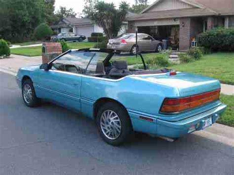 1994 chrysler lebaron sell new 1994 chrysler lebaron gtc convertible 2 door 3 0l